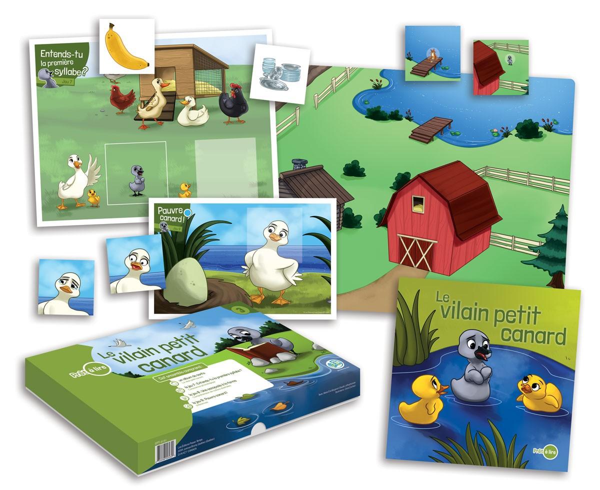Prêt à lire 3 -  Le vilain petit canard