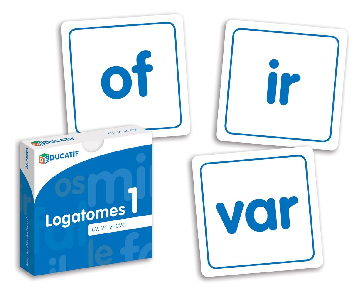 Déducatif - Logatomes 1 (CV, VC et CVC)