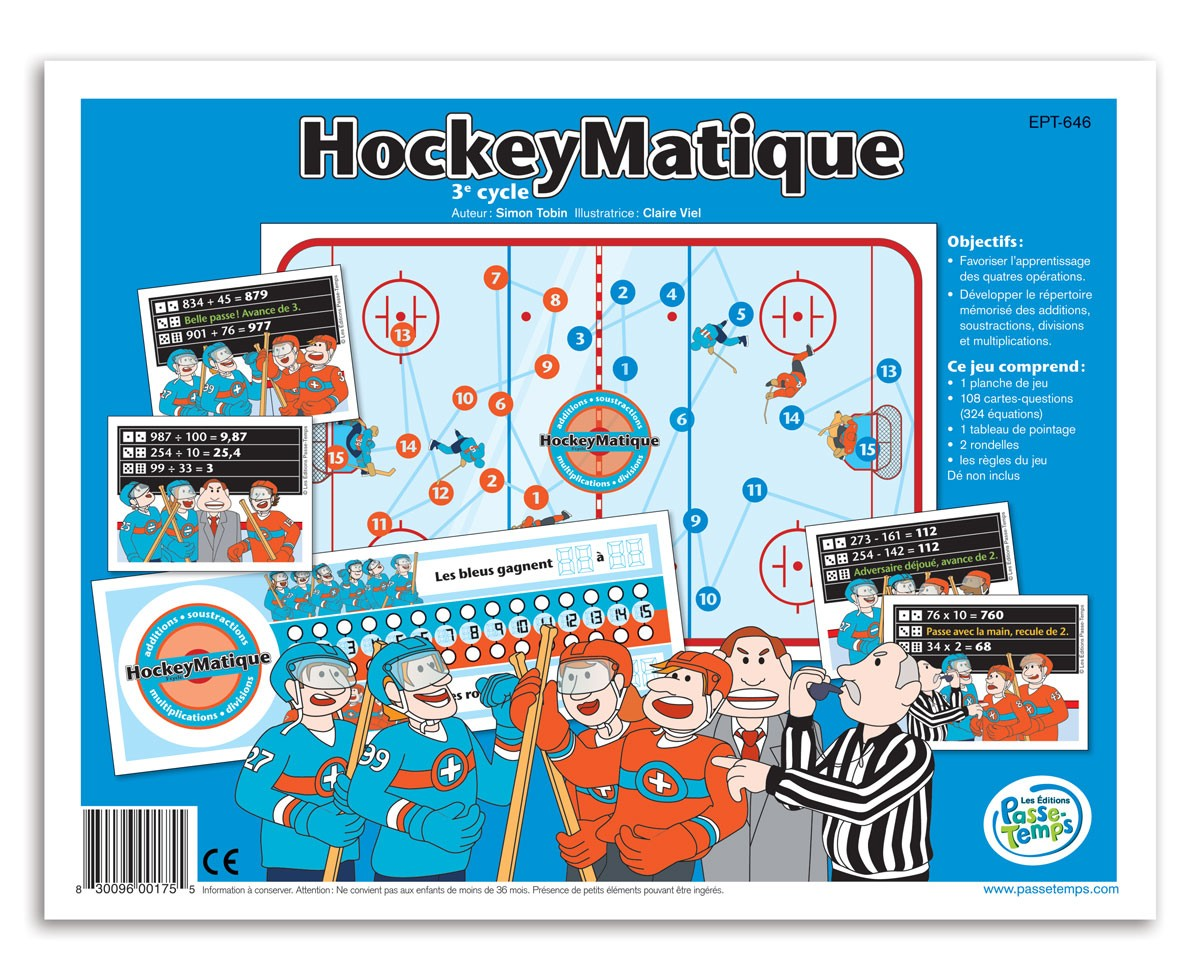 Hockeymatique - 3e cycle