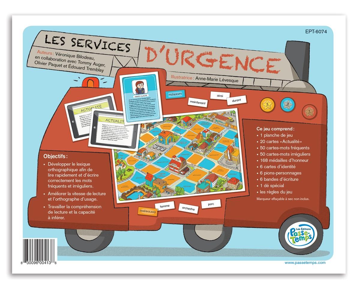 Les services d'urgence