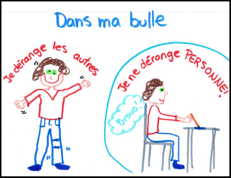 Dessin bulle